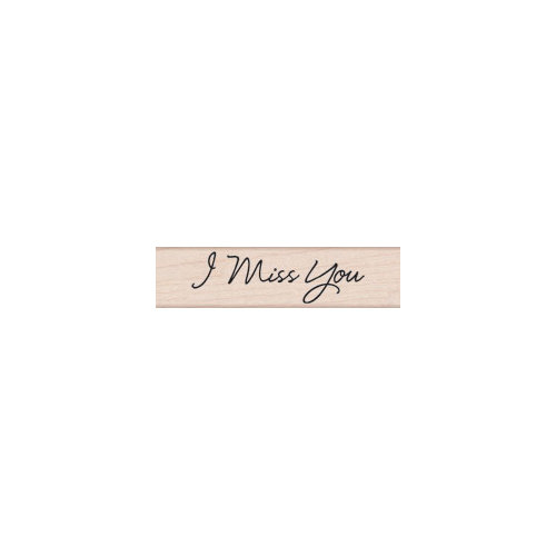 Hero Arts - Woodblock - Wood Mounted Stamps - I Miss You