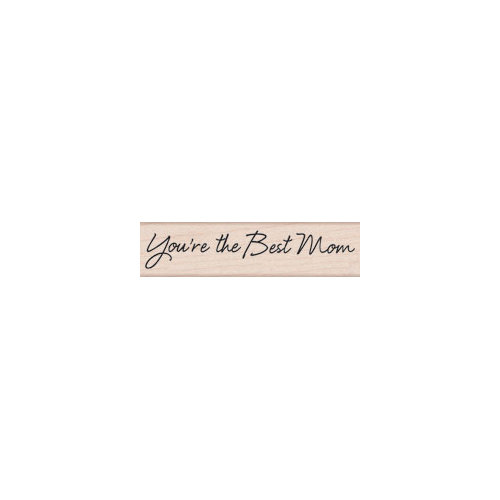 Hero Arts - Woodblock - Wood Mounted Stamps - Best Mom