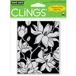 Hero Arts - Clings - Repositionable Rubber Stamps - Large Blossom