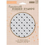 Hero Arts - BasicGrey - Life of the Party Collection - Clings - Repositionable Rubber Stamps - Stars