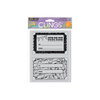 Hero Arts - Clings - Repositionable Rubber Stamps - Surprise