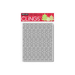 Hero Arts - Clings - Christmas - Repositionable Rubber Stamps - Snowdots