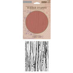 Hero Arts - BasicGrey - Repositionable Rubber Stamps - Wood Background