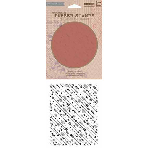 Hero Arts - BasicGrey - Repositionable Rubber Stamps - Arrow Background
