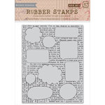 Hero Arts - BasicGrey - Capture Collection - Repositionable Rubber Stamps - Talk Bubbles Background