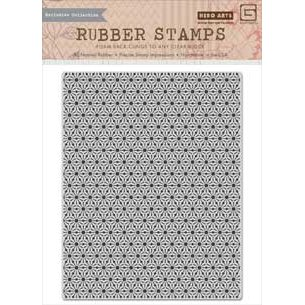 Hero Arts - BasicGrey - Herbs N Honey Collection - Repositionable Rubber Stamps - Star Background