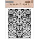 Hero Arts - Basic Grey - Spice Market Collection - Repositionable Rubber Stamps - Deco Background