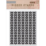 Hero Arts - Basic Grey - Grand Bazaar Collection - Repositionable Rubber Stamps - Gratitude Background