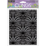 Hero Arts - Clings - Repositionable Rubber Stamps - Tropical Background