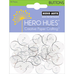 Hero Arts - Hero Hues - Card Buttons - Clear