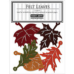 Hero Arts - Felt Shapes - Fall Leaves