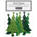 Hero Arts - Felt Shapes - Christmas - Trees