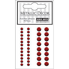 Hero Arts - Hero Hues - Bling - Metallic Decor - Red, CLEARANCE
