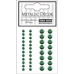 Hero Arts - Hero Hues - Bling - Metallic Decor - Green, CLEARANCE