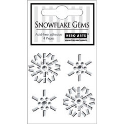 Hero Arts - Bling - Christmas - Adhesive Gems - Snowflake