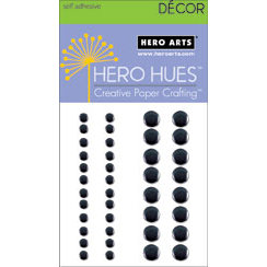 Hero Arts - Hero Hues - Bling - Metallic Decor - Black, CLEARANCE