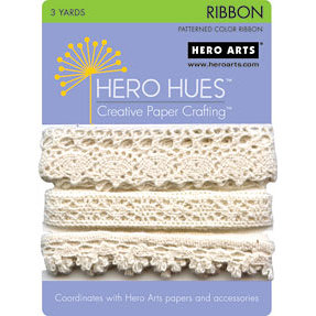 Hero Arts - Hero Hues - Ribbon - Woven Lace