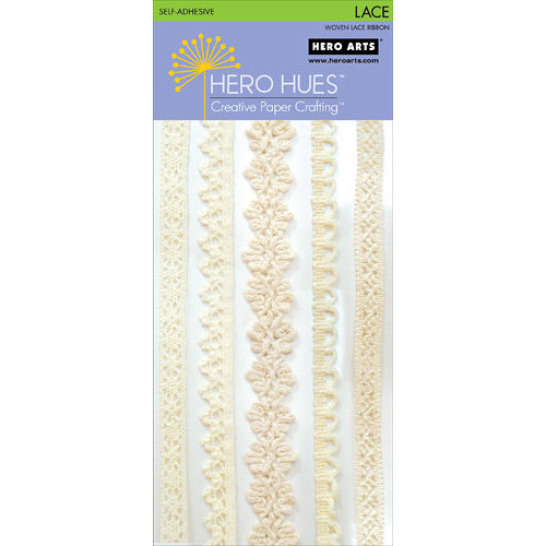 Hero Arts - Hero Hues - Self Adhesive Lace - Cream