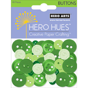 Hero Arts - Hero Hues - Mixed Buttons - Foliage