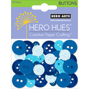 Hero Arts - Hero Hues - Mixed Buttons - Sea