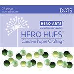Hero Arts - Hero Hues - Bling - Dots - Foliage