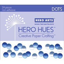 Hero Arts - Hero Hues - Bling - Dots - Sea