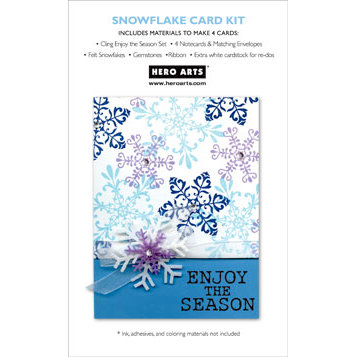 Hero Arts - Christmas - Card Kit - Snowflake