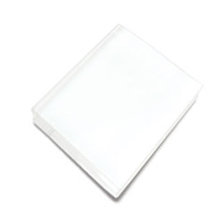 Hero Arts - Clear Design - Clear Acrylic Stamping Block - 4.75 x 6 Inch