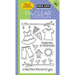 Hero Arts - Poly Clear - Clear Acrylic Stamps - Kiss From the Sun