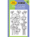 Hero Arts - Poly Clear - Clear Acrylic Stamps - Delicate Blossoms