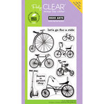 Hero Arts - Poly Clear - Clear Acrylic Stamps - Joy Ride
