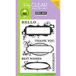 Hero Arts - Poly Clear - Clear Acrylic Stamps - Congrats