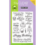 Hero Arts - Poly Clear - Clear Acrylic Stamps - Yummy Treats