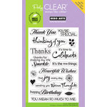 Hero Arts - Poly Clear - Clear Acrylic Stamps - Find Joy