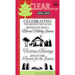 Hero Arts - Poly Clear - Christmas - Clear Acrylic Stamps - Greatest Gift