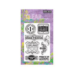 Hero Arts - Poly Clear - Clear Acrylic Stamps - Cheer Up