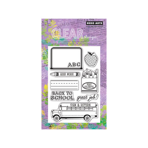 Hero Arts - Poly Clear - Clear Acrylic Stamps - Good Work