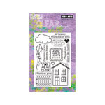 Hero Arts - Operation Write Home - Poly Clear - Clear Acrylic Stamps - Right at Home