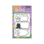 Hero Arts - Poly Clear - Clear Acrylic Stamps - A Little Note