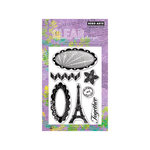 Hero Arts - Poly Clear - Clear Acrylic Stamps - Together