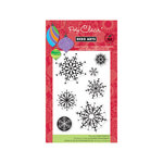 Hero Arts - Poly Clear - Christmas - Clear Acrylic Stamps - Designer Snowflakes