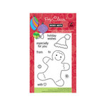 Hero Arts - Poly Clear - Christmas - Clear Acrylic Stamps - Gingerbread Wishes