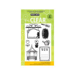 Hero Arts - Poly Clear - Clear Acrylic Stamps - Le Jardin