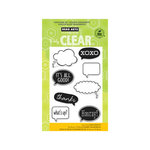 Hero Arts - Poly Clear - Clear Acrylic Stamps - It's All Good