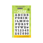 Hero Arts - Poly Clear - Clear Acrylic Stamps - Sketchbook Letters