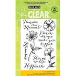Hero Arts - Poly Clear - Clear Acrylic Stamps - Things We Love