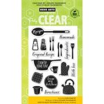 Hero Arts - Poly Clear - Clear Acrylic Stamps - Cook Up Some Fun