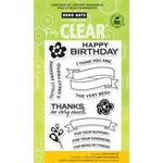 Hero Arts - Poly Clear - Clear Acrylic Stamps - For Your Kindness