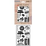 Hero Arts - BasicGrey - Herbs N Honey Collection - Clear Acrylic Stamps - Gather Love