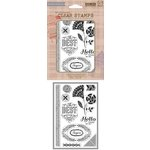 Hero Arts - Basic Grey - Spice Market Collection - Clear Acrylic Stamps - Best Time Ever